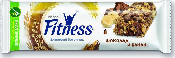 Батончик Fitness с цельными злаками и шоколадом, 23,5 г