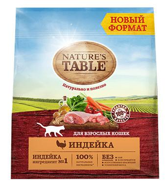 Сухой корм для взрослых кошек Nature's Table