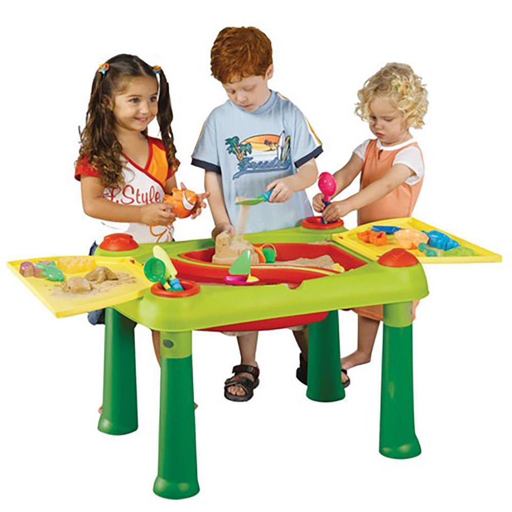 Столик для детского творчества с водой и песком