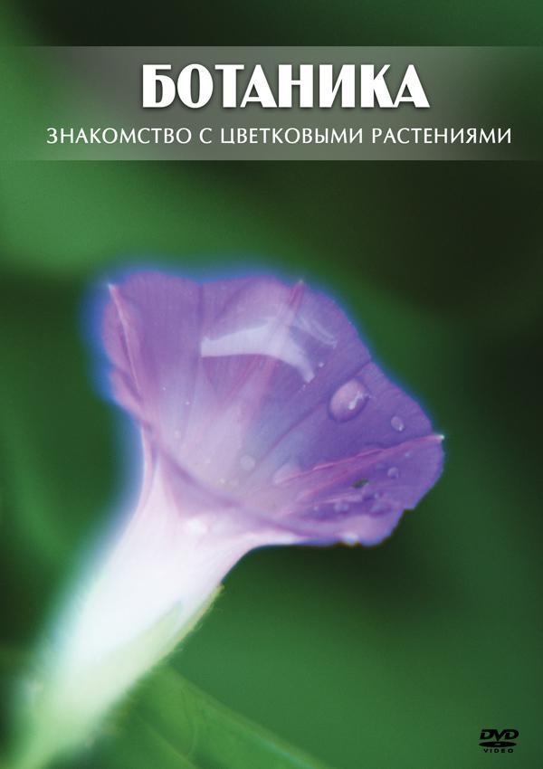 DVD. Ботаника 6 класс. Знакомство с цветковыми растениями