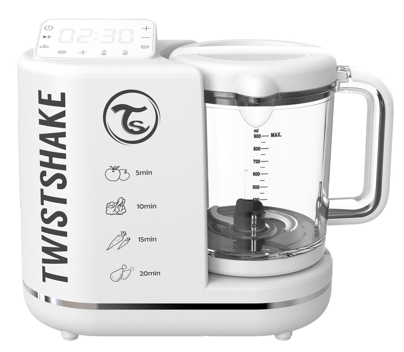 Комбайн 6 в 1 для приготовления детского питания Twistshake