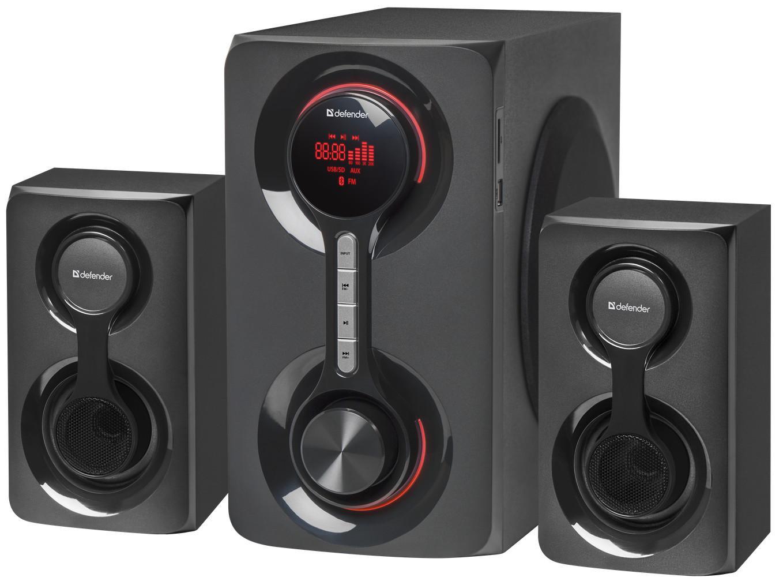 Акустическая система 2.1, Tornado 60 Вт, Bluetooth, FM/MP3/SD/USB, арт. 65592