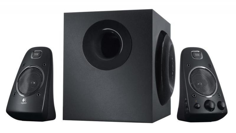 Акустическая система 2.1 Logitech Z-623, чёрная