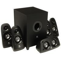 Акустическая система 5.1 Logitech Z506 Speaker System, чёрная