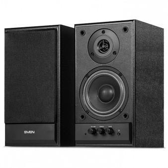 Аккустическая система 2.0 Sven SPS-702, чёрная