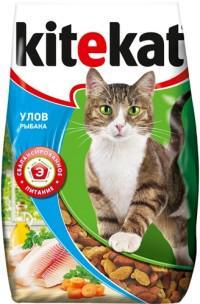 Сухой корм для кошек Kitekat