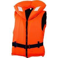 Жилет спасательный с воротником на молнии Norfin 100N (от 90 кг)