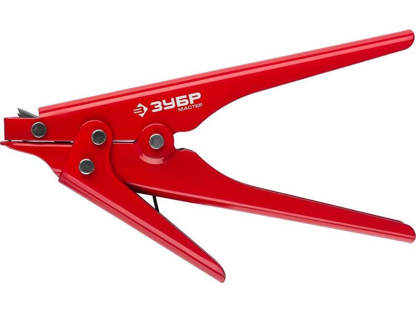 Пистолет для затяжки и обрезки пластиковых хомутов шириной 2,3-9,5 мм