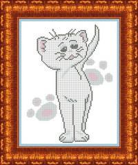 Канва с рисунком для вышивания бисером, А4, арт. КБЖ-4003/2
