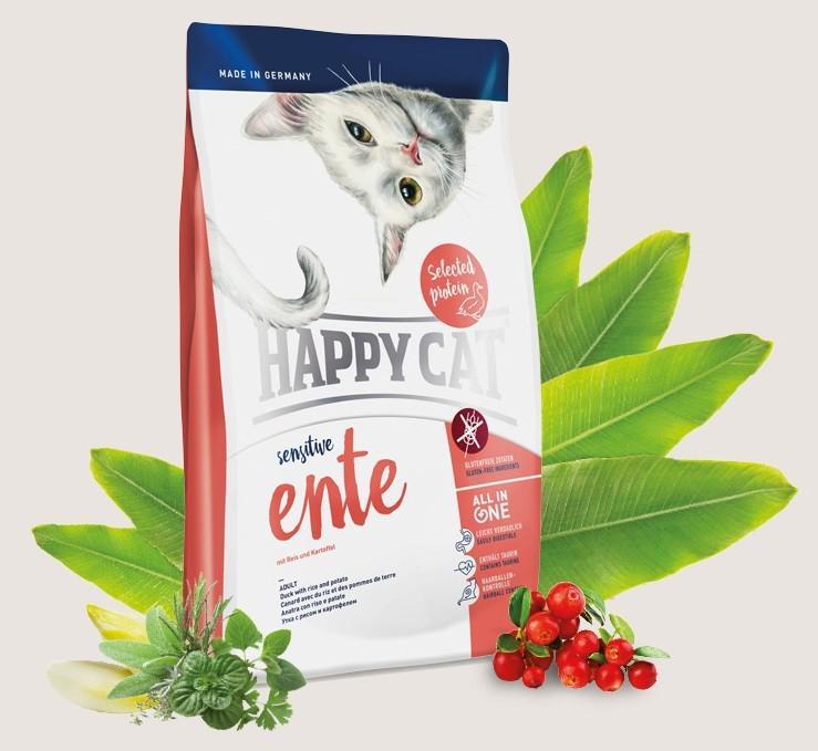 Сухой корм для кошек Happy Cat