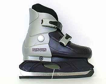 Раздвижные хоккейные коньки, модель 219-2, размер M (33-36)