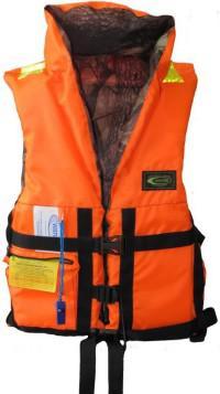 Жилет спасательный детский двусторонний, размер 40-42 (до 40 кг)