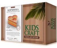 Набор для плетения Kids Craft №13, (сердце малое 16х16 см)