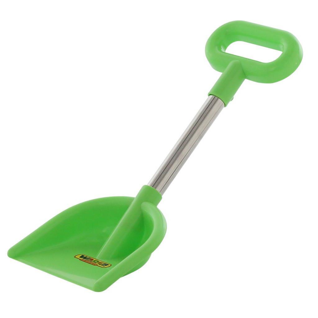 Лопата №20, алюминиевый черенок, с ручкой, цвет зеленый