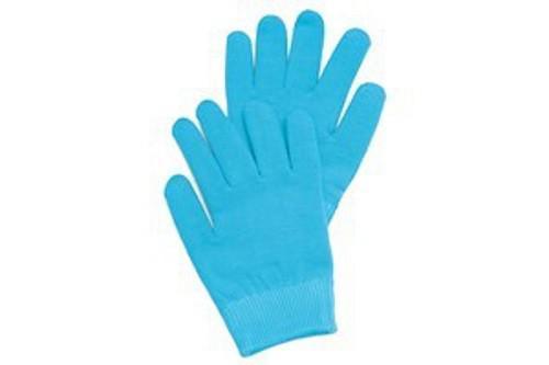 Маска-перчатки, увлажняющие, гелевые, многоразового использования, голубые