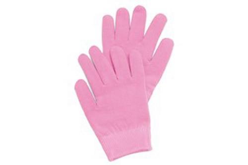 Маска-перчатки, увлажняющие, гелевые, многоразового использования, розовые