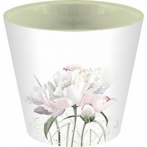 """Горшок для цветов """"London Deco. Садовый пион"""", 1,6 л"""
