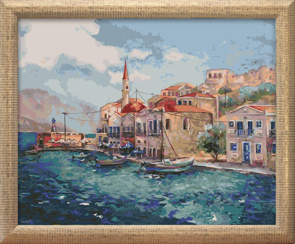 "Картина по номерам на подрамнике Color KIT ""Морской пейзаж"", 40х50 см"