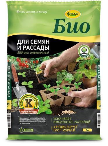 Грунт для семян и рассады