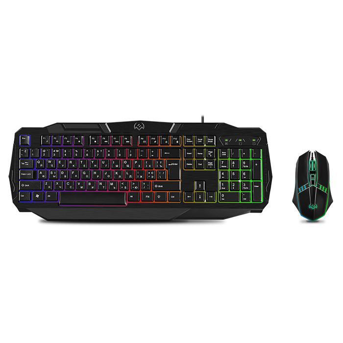 Игровой набор: клавиатура + мышь Sven GS-9100, арт. SV-018436