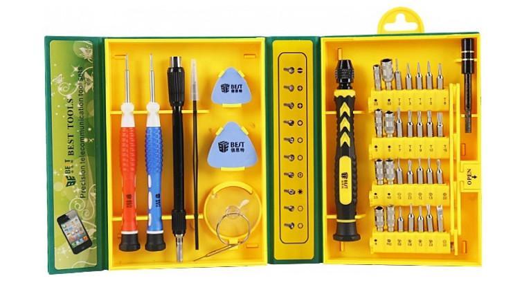 Набор отверток для точных работ BESTOOL BST-8921, 37 предметов