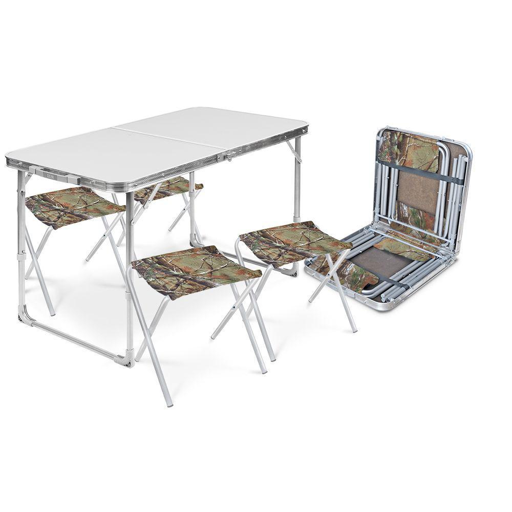 Набор стол и 4 стула Ника