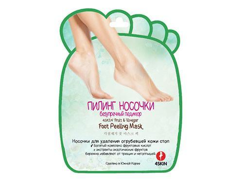 Пилинг-носочки, безупречный педикюр, 2x20 грамм