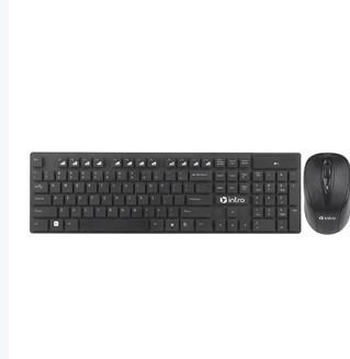 Клавиатура + мышь Intro DW610, черный