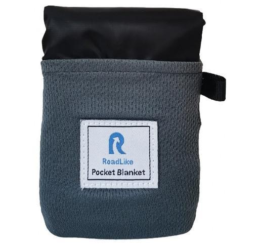 Покрывало для пикника RoadLike Pocket , черный, 110х160 см