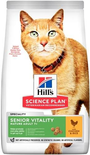 Сухой корм для пожилых кошек Hill`s