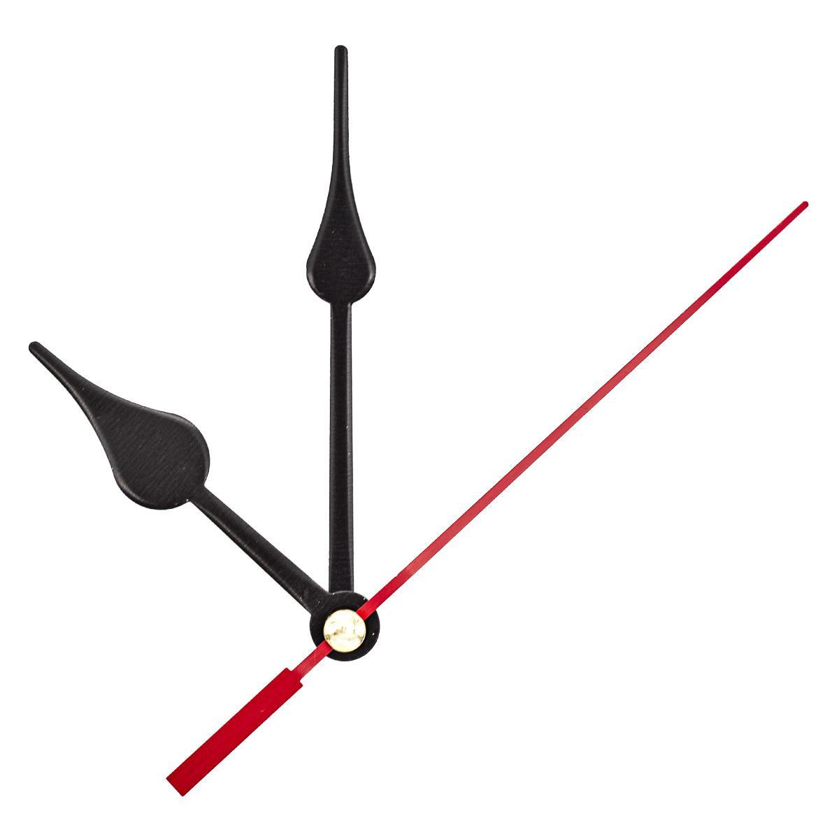 Набор стрелок часовых, 60/83/90 мм, 3 штуки, цвет красный (арт. 5AS-063)