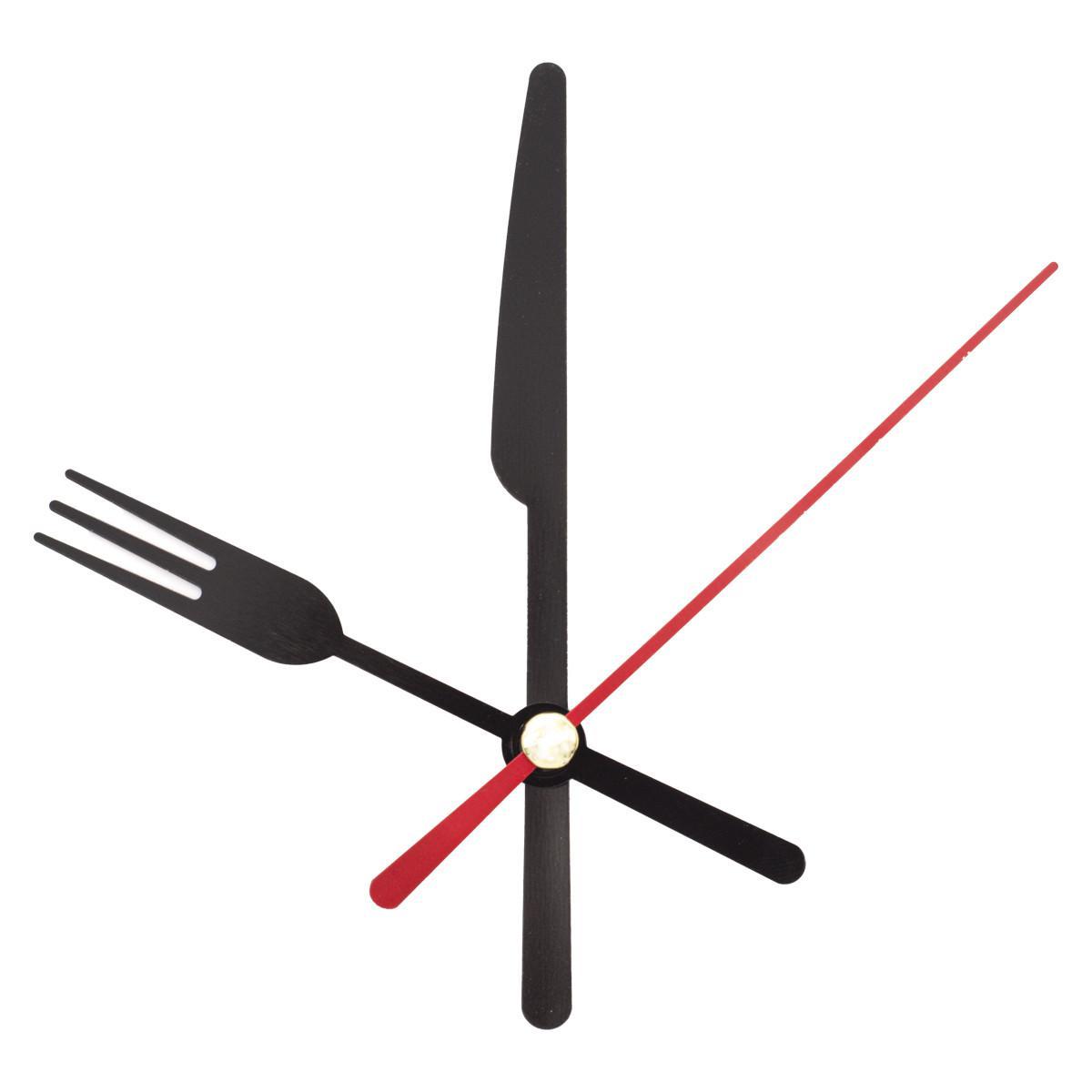 Набор стрелок часовых, 58/72/72 мм, 3 штуки, цвет красный (арт. 5AS-064)