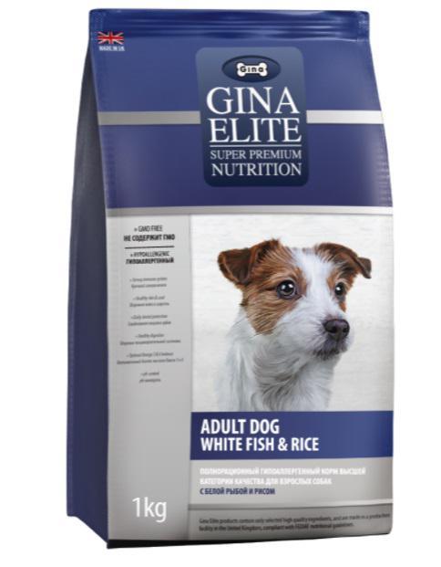 Сухой корм для собак Gina