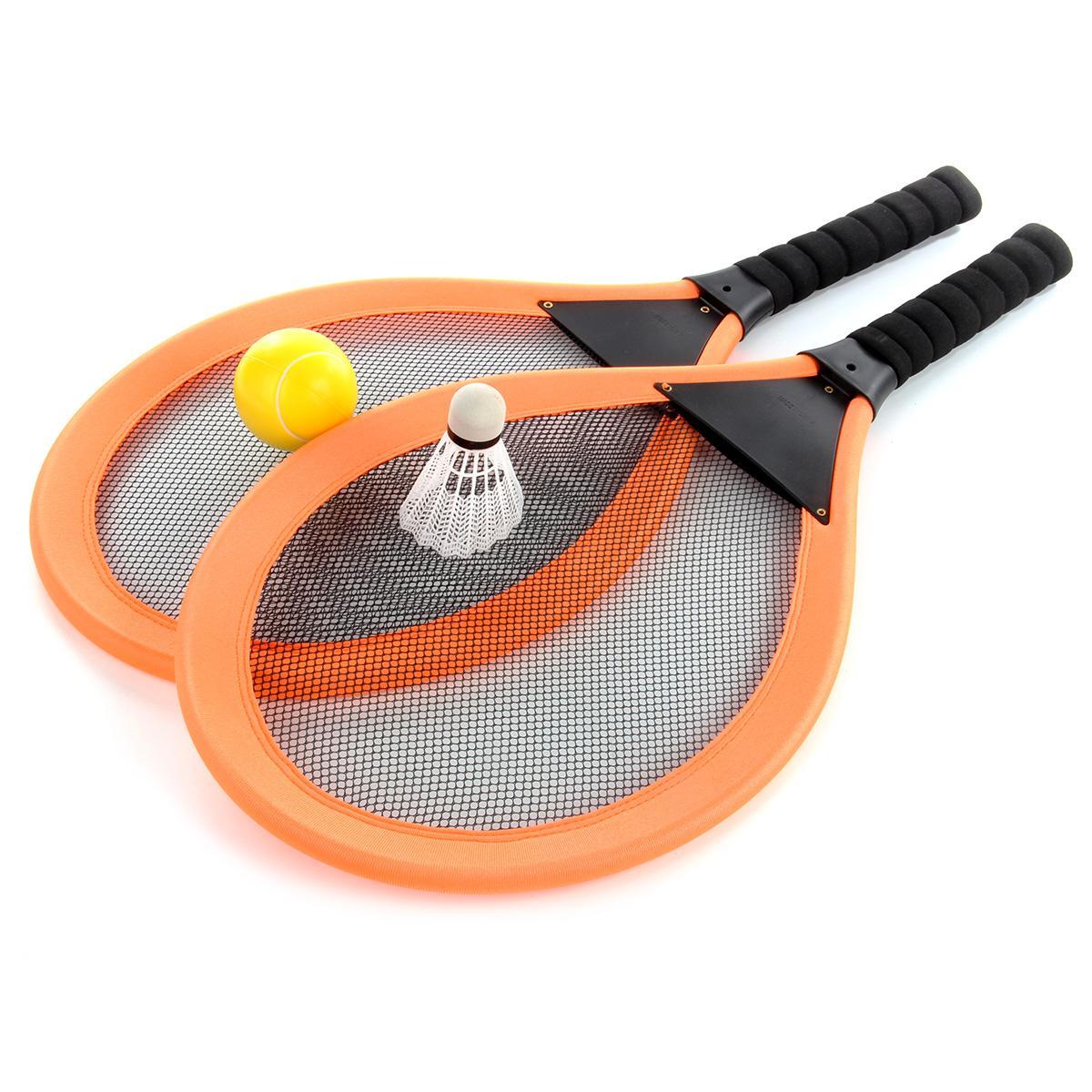 Набор ракеток с воланчиком и мячом, оранжевый