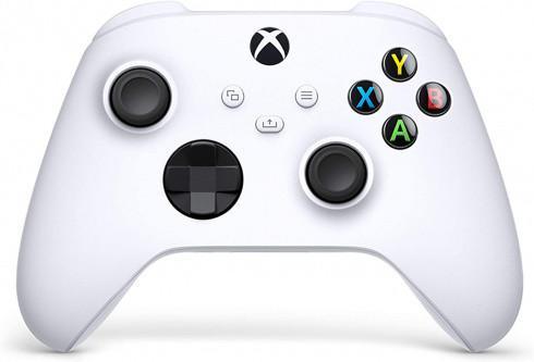 Беспроводной геймпад для Xbox One, Xbox Series S/X. Robot White (QAS-00002)