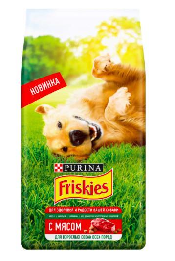 Сухой корм для взрослых собак Friskies, 10 кг