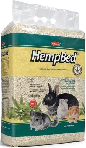 Подстилка из пенькового волокна для мелких домашних животных, кроликов, грызунов Padovan