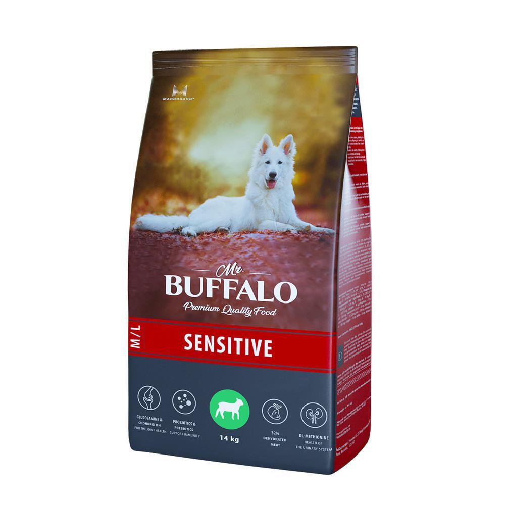 Сухой корм для собак средних и крупных пород Mr.Buffalo