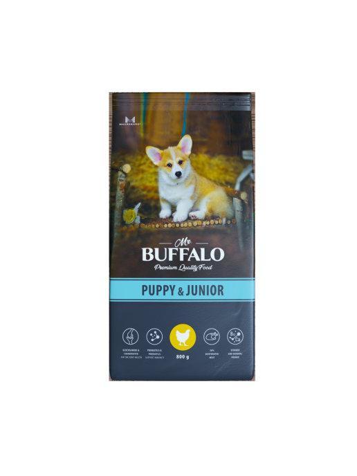 Сухой корм для щенков и юниоров Mr.Buffalo