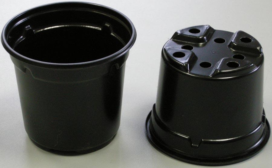 Горшок для рассады, круглый, 10х8,7 см, 0,46 л