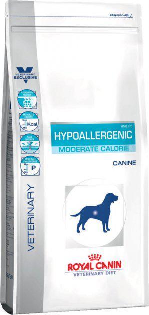 Сухой корм для собак диетический при пищевой аллергии или пищевой непереносимости некоторых ингредиентов и нутриентов Royal Canin