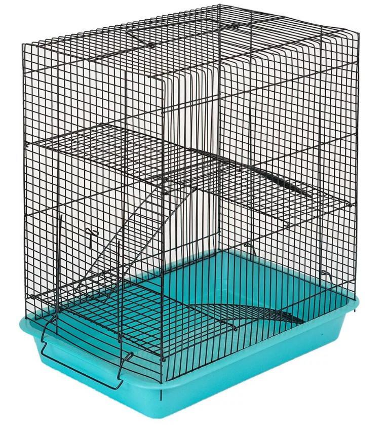 Клетка для грызунов трехэтажная