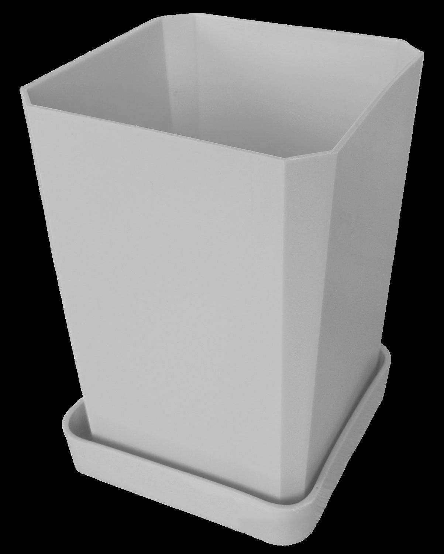 Горшок для рассады, 750 мл, цвет белый