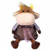 """Мягкая игрушка """"Бычок Боря Бул"""", 17 см"""
