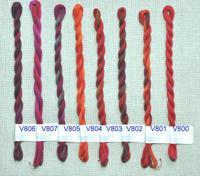 "Мулине меланж ""V&H"", 30 м в пасме, цвет: V800"