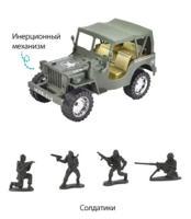 """Джип """"Военный"""", арт. T470-D4331"""