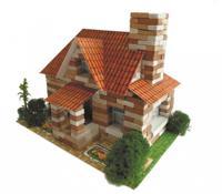 """Конструктор """"Архитектурное моделирование. Английский домик"""", 360 деталей"""