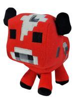 """Мягкая игрушка Minecraft """"Baby cow. Детеныш грибной коровы"""", цвет: красный, 18 см"""