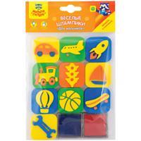"""Комплект штампиков для творчества """"Для мальчиков"""", с чернилами (24 упаковки по 10 штук) (количество товаров в комплекте: 24)"""