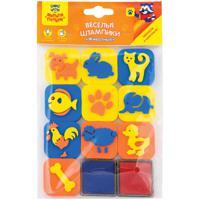"""Комплект штампиков для творчества """"Животные"""", с чернилами (24 упаковки по 10 штук) (количество товаров в комплекте: 24)"""